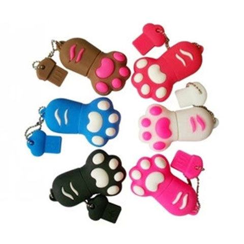 cartoon cat claw USB Flash drive 16/32/64gb - CELLRIZON
