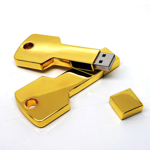 Metal Key USB Flash Drive 4GB/8GB/16GB/32GB - CELLRIZON