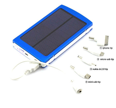 Full 10000mah External Solar Power Bank - CELLRIZON  - 5