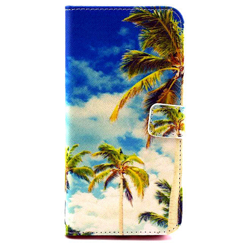 Coconut Palm synthetic Leather Case for iPhone 6 - CELLRIZON