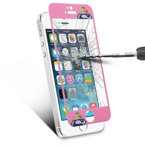 Tempered glass screen cover protector for Iphone 5 - CELLRIZON