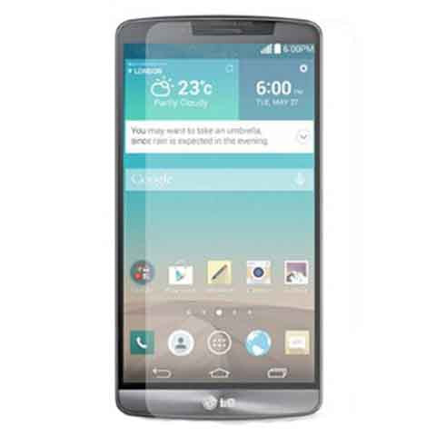 Tempered Glass 0.26mm Crystal Clear Screen Protector For LG G3 - CELLRIZON
