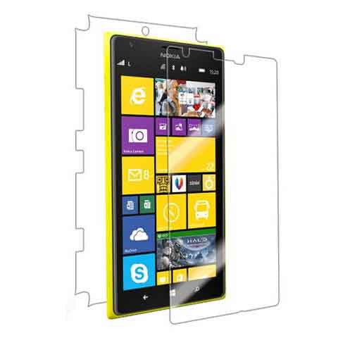 Nokia Lumia 1520 Screen Full Protector Front & Back Premium HD Clear Film - CELLRIZON