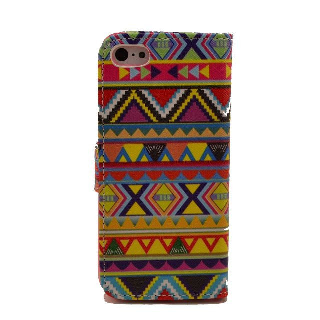 Tribe Painting Leatheri Phone 5 Case - CELLRIZON