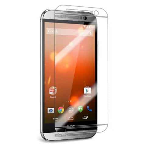 HTC One M8 HD Clear Film Anti-Bubble Crystal Screen Protector Premium - CELLRIZON