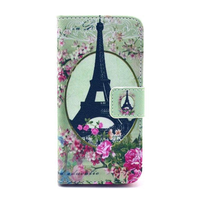 Tower Painting Leatheri Phone 5 Case - CELLRIZON