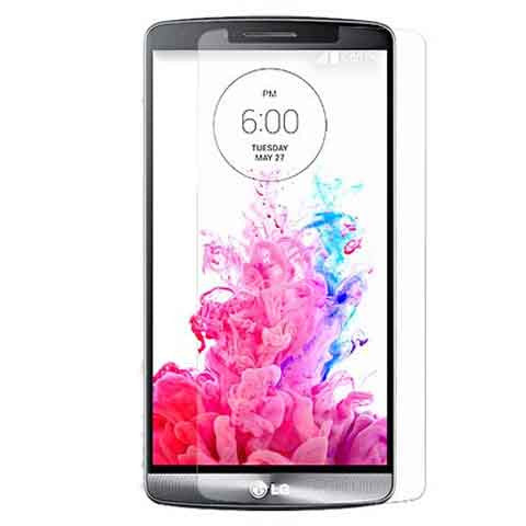 LG G3 Premium Ballistic Glass Screen Protector high Clarity and Touchscreen Accuracy - CELLRIZON