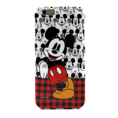 Cartoon Mickey TPU Case for iPhone 6  Back Cover - CELLRIZON
