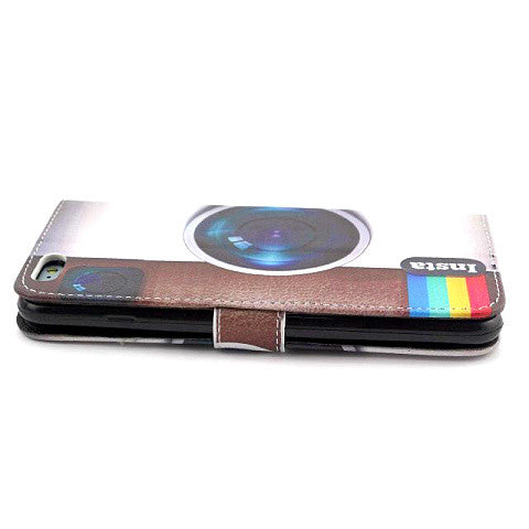 Wallet Style Leather Case for iPhone 6 Plus - CELLRIZON