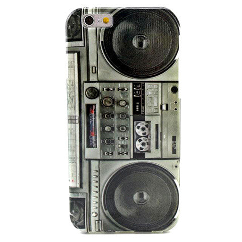 Vintage Radio TPU Case for iPhone 6 - CELLRIZON