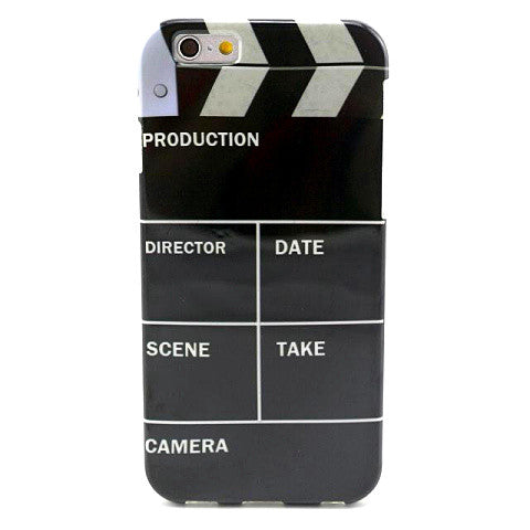 Clapperboard TPU Case for iPhone 6/6 Plus  Back Cover - CELLRIZON