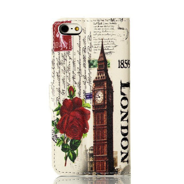 Rose Eiffel Tower Painting iPhone 5 Case - CELLRIZON