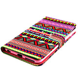 Tribe Pattern Wallet Leather Case for iPhone 6/6 Plus - CELLRIZON  - 5