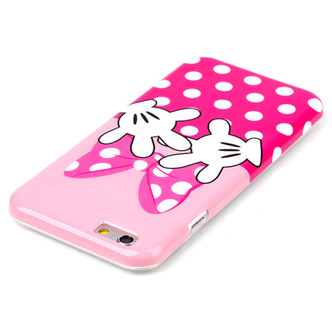 Butterfly Finger TPU Case for iPhone 6/6S/6 plus Back Cover - CELLRIZON