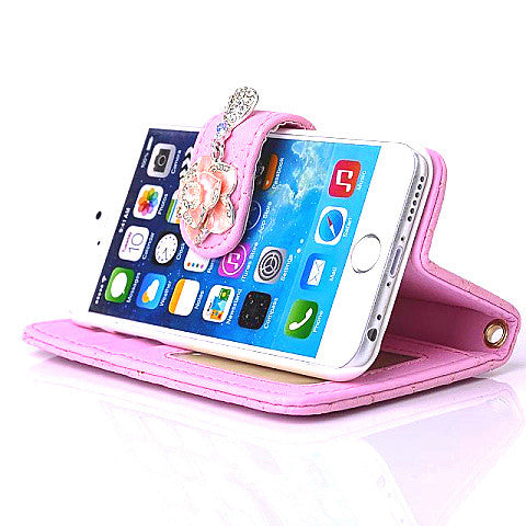 Card Slots Stand synthetic Leather Case for iPhone 6 - CELLRIZON