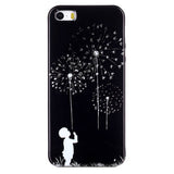 Dandelion Boy Mark Case for iPhone 6 Plus/iPhone 6/iPhone 5S/SE - CELLRIZON