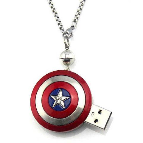 Captain America's shield USB Flash Drive 2/4/8/16/32/64GB - CELLRIZON
