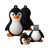 Mini Penguin USB Flash Drive 2/4/8/16/32/64gb - CELLRIZON  - 1