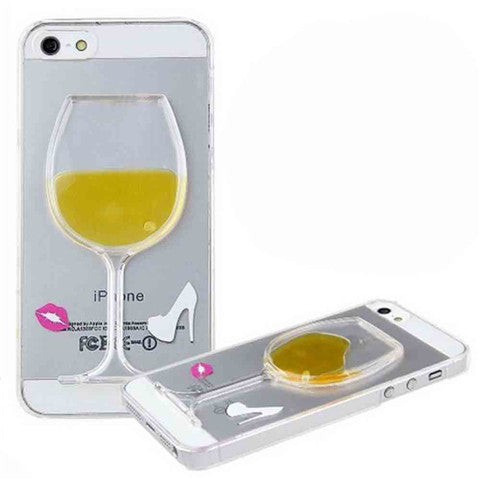 High-heeled Wine Cup Stand Case for iPhone 5 - CELLRIZON
