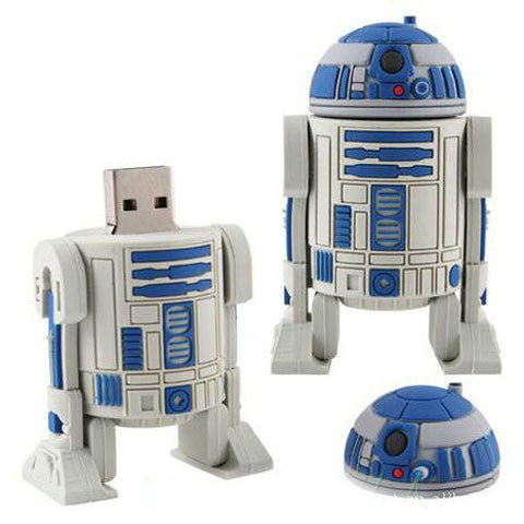 STAR WAR robot USB Flash Drive 2gb/4gb/8gb/16gb/32gb/64gb - CELLRIZON