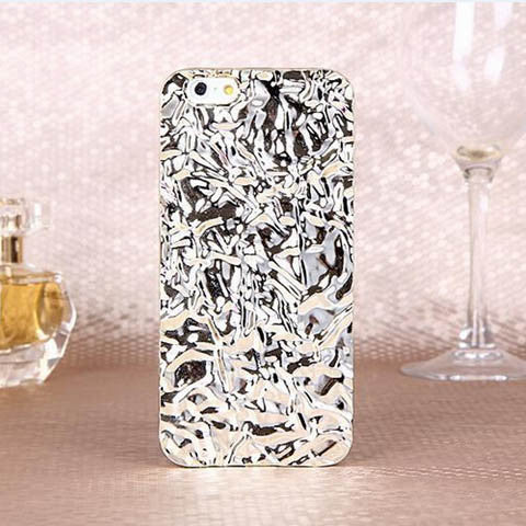 3D Crystal Mirror Color Metal Cover for iPhone 6s or 6s plus - CELLRIZON  - 1