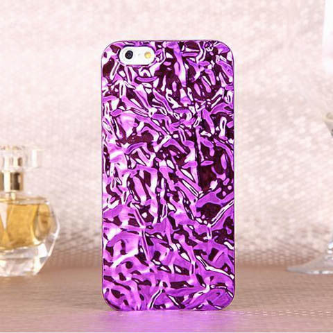 3D Crystal Mirror Color Metal Cover for iPhone 6s or 6s plus - CELLRIZON  - 2