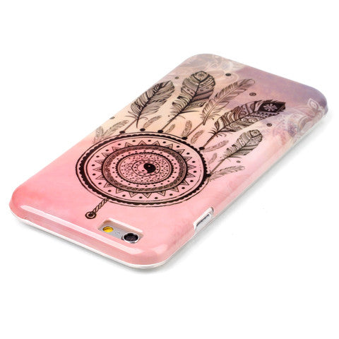Pink Campanula hard case for iphone 6/6s/6 plus 5.5 inch - CELLRIZON