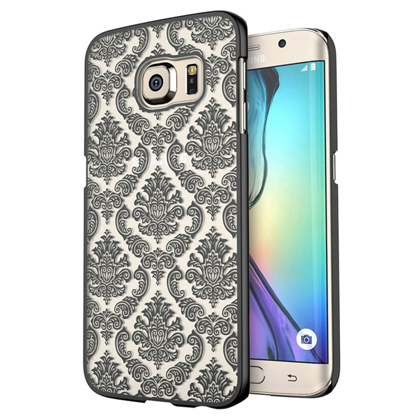 Samsung S7 & S7 Edge Damask Vintage Flower Pattern Case - CELLRIZON  - 1
