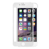 IPHONE 6 plus FULL SCREEN HD CLEAR GLASS SCREEN PROTECTOR white - CELLRIZON