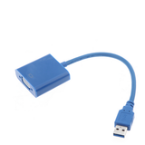 Usb 3.0 a VGA Multi-display adaptador convertidor externa tarjeta gráfica de vídeo - CELLRIZON