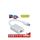 2015 New USB 3.0, HDMI to HDMI Converter, HDMI to HDMI cable USB3.0 Multi Display Graphics adaptor for portable pc HD 1080 p HDTV LCD projector - CELLRIZON
