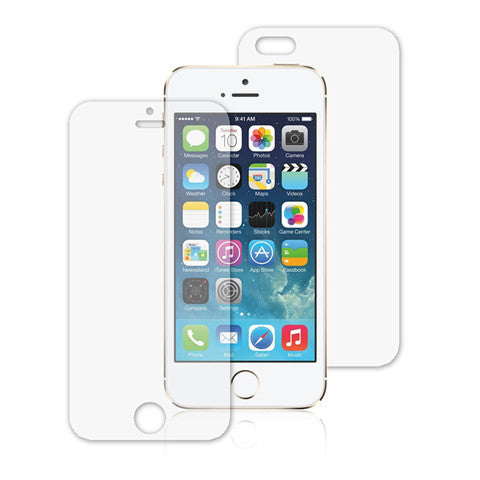 3x CLEAR FRONT AND BACK QUALITY SCREEN PROTECTOR COVER FOR APPLE IPHONE 5S 5 5G - CELLRIZON