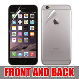 2 Pack Ultra Thin Clear Front & back Screen Protector Guard Film For iPhone6 4.7 - CELLRIZON  - 1
