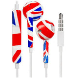 UK Flag Earphone for iPhone 5 6 - CELLRIZON