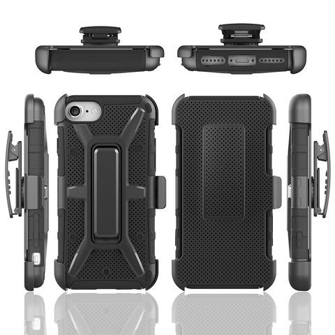 Hex Back Clip Cover For Iphone 7 7 plus - CELLRIZON  - 1