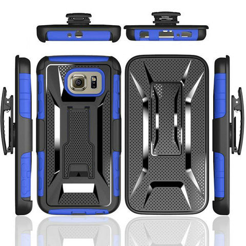 Armor TPU Case for Samsung Galaxy S6 or S6 Edge - CELLRIZON  - 1