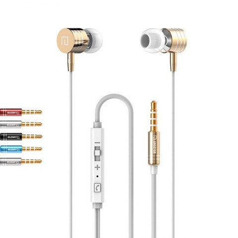 LANGSTON  Stereo Bass Metal Earphone - CELLRIZON