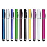 2 in 1 Touch Screen Stylus Metal Pen 10pcs - CELLRIZON