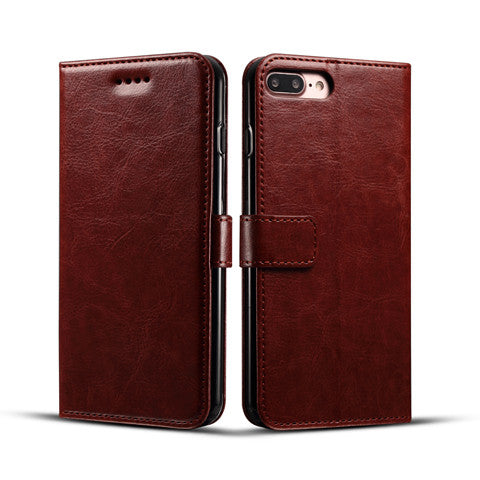 Fine lines printed leather Case For IPhone 7 7plus - CELLRIZON  - 6