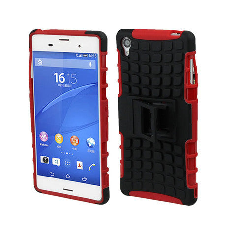 Armor Back Cover With Belt Clip for Sony Xperia Z3 - CELLRIZON
