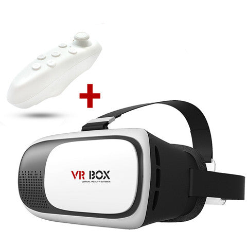 VR BOX II 2 3D Glasses+ Bluetooth Remote - CELLRIZON