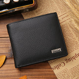 Vintage Short Casual Male Card Holder Wallets - CELLRIZON