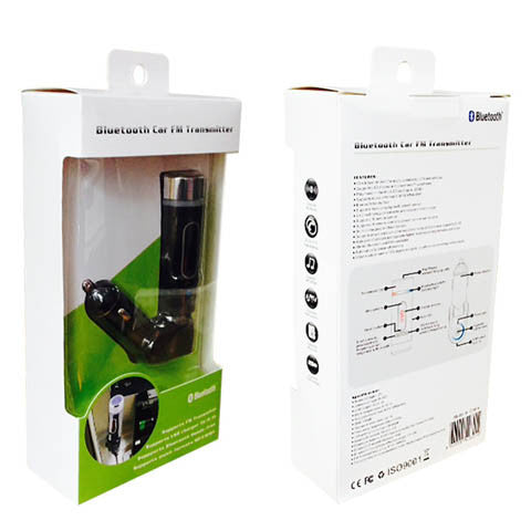 Bluetooth FM Transmitter With Remote Control - CELLRIZON