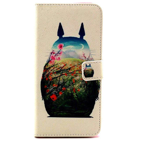 Totoro Wallet Leather Case for iPhone 6 4.7inch/6 plus 5.5inch - CELLRIZON  - 1