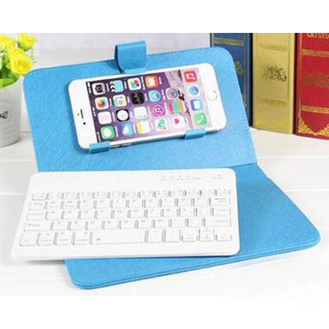 Creative Case With Bluetooth Keyboard For IOS System Apple IPhone