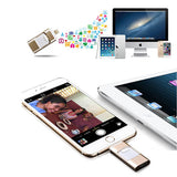 OTG 3-in-1 Apple Mobile USB Flash Drive in 16GB/32GB/64GB - CELLRIZON  - 8