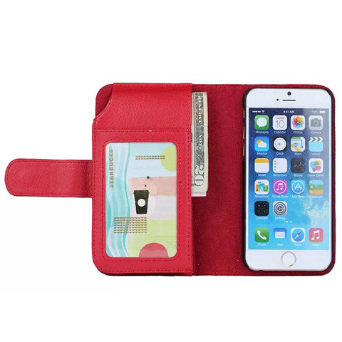 7 Cards Slot Wallet Case for iPhone 6/6 plus - CELLRIZON