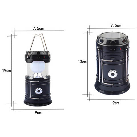 Solar Powered LED Lantern With Portable Charging Power Bank - CELLRIZON  - 3
