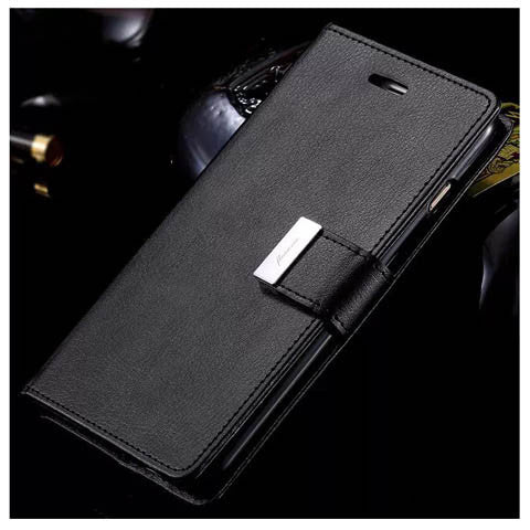 PU Leather Cover With Card Bag For Iphone 6 4.7 inch - CELLRIZON