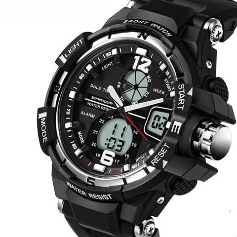 Sport Cold Dual Display Electronic Watches - CELLRIZON